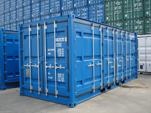 Side Door Container